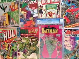 Silver Age Comic Books