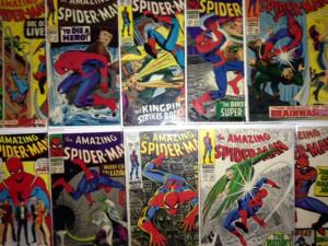 spiderman Silver Age Comic Books