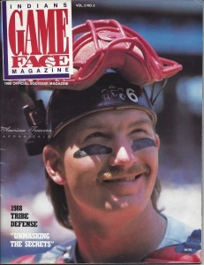 1988 Cleveland Indians Game Face vol. 2 No.3 cover