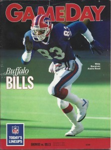 Andre Reed is on the cover.