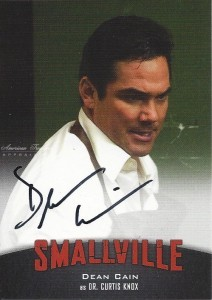 Dean Cain Autograph Cryptozoic Smallville Superman