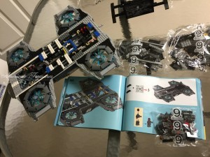Finishing the Lego Marvel Avengers Helicarrier pic 8