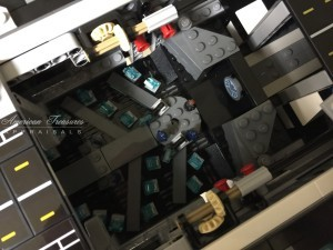 Finishing the Lego Marvel Avengers Helicarrier pic 6