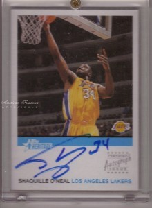 Shaquille O'Neal 2001-02 Topps Heritage #HA-SO