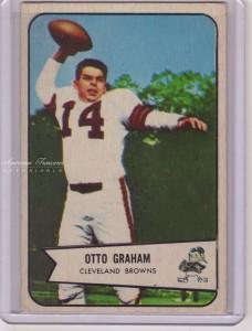 1954 Bowman #40 Otto Graham